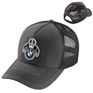 BMW Motorrad Genuine Roadster Baseball Cap / Hat Black / Grey One Size