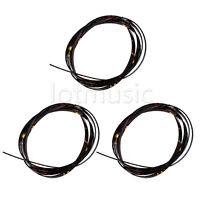 3 Pcs 5 Feet Tortoise Shell Celluloid Classic Guitar Binding 6 x 1.5mm Thick
