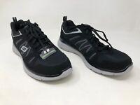 New Men's Skechers Lightweight Athletic Casual Sneaker Shoe 59941H Black 46S