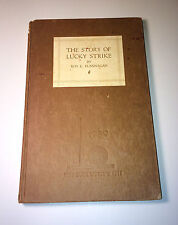 """Antique World's Fair (1939) """"The Story of Lucky Strike"""" Tobacco! Smoking Book!"""