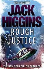 *BRAND NEW* Rough Justice by Jack Higgins Paperback 2008