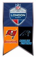 NFL LONDON GAMES LAPEL PIN CAROLINA PANTHERS VS. TAMPA BAY BUCCANEERS TOTTENHAM