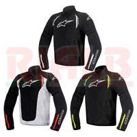 Giacca Moto in Tessuto Alpinestars AST AIR Textile Jacket con Protezioni