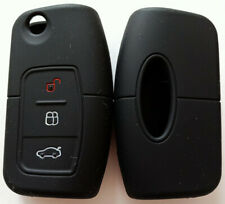 BLACK SILICONE  KEY COVER SUITS FORD FIESTA FOCUS MONDEO XR6 TERRITORY FALCON