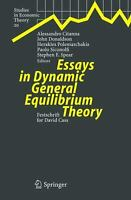Essays in Dynamic General Equilibrium Theory : Festschrift for David Cass
