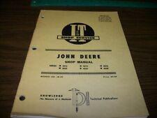 John Deere I&T Shop manual For 3010 & 20, 4010 & 20, 5010 & 20