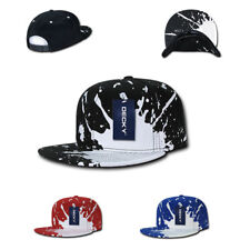 1 Dozen DECKY New 6 Panel Snapback Baseball Structured Caps Hats Wholesale Lot