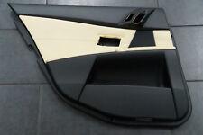BMW 5er E60 E61 Türverkleidung Tür hinten links Leder Merino Champagner