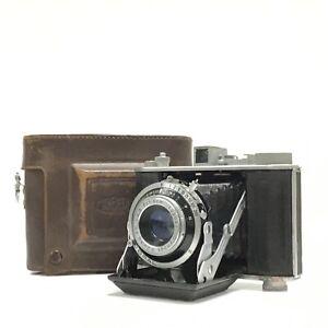 OLYMPUS 6 Six 6x6 6x4.5 Medium Format Folding Camera 75mm f3.5 W/ Case - AS IS