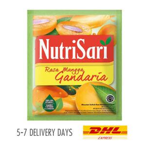 [NUTRISARI] Vitamin C Mineral Halal Drink Powder Sachet Mangga Gandaria 40x14g