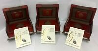 (NO COIN) Lot of (3) 2016 American Buffalo 1oz $50 Gold Proof Boxes W/ COA
