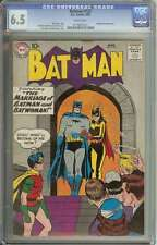 BATMAN #122 CGC 6.5 WHITE PAGES