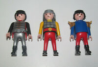 Playmobil Figurine Personnage Lot x3 Chevaliers NEW