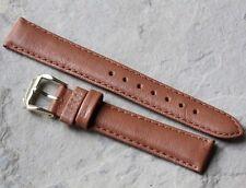 Padded Genuine Deerskin 16mm vintage watch strap by Kreisler 1960s/70s Nos
