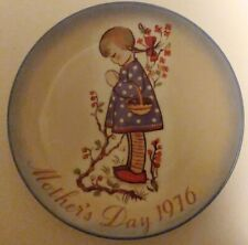 Schmid Mothers Day 1976 Collectible Plate Hummel 1975 W. Germany