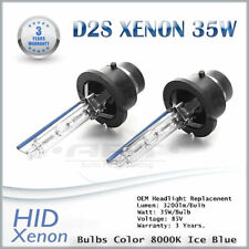 BMW X5 E53 2000-2006 D2S Xenon Hid 35W Bulbs Ice Blue 8000K Low Beam Headlight