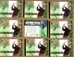 12 Card Lot of 2001 Upper Deck #101 Mike Weir LB GOLF