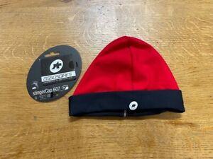 Assos Stinger Cap - Red Swiss - Size 0