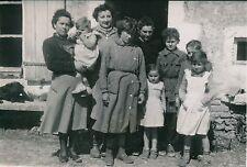 CLAIRFEUILLE c. 1955 - Famille Guinaud Famille nombreuse Haute-Vienne - PR 631