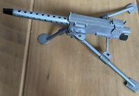Vintage Action Man 30 Cal Grey MG & Tripod 1960s From Armoured Car Commander VGC
