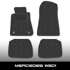 Fußmatten Mercedes 190 W201 (1982-1993) Anthrazit Autoteppiche nadelfilz 4tlg