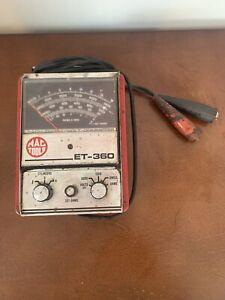 MAC TOOLS ET - 360 ANALOG DWELL, VOLT, OHM RPM METER ET-360 Vintage tool