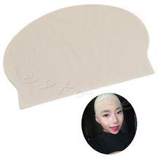 Funny Fake Bald Latex Skin Head Skinhead Bald Mens Ladies Fancy Dress Wig Cap