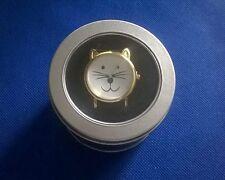 Cute Cat Design Leather MEOWINGTONS Women's Leather Wrist Watch (B)