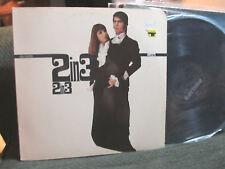ESTHER & ABI OFARIM 2 IN 3 RARE LP stereo 1967 cinderella rockefella barry gibb