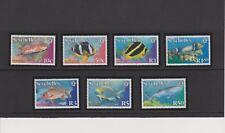 Seychelles Fish Issue of Year 2003 Set MNH Scott 836-842