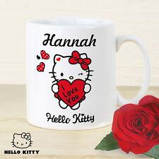 Hello Kitty I Love You Mug - Personalised