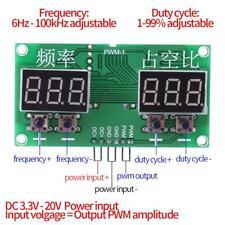 Signal Generator PWM Pulse Frequenz Duty Cycle Einstellbar Modul LCD 3.3V-30V bg