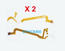 2 PCS Lens Aperture Flex Cable Ribbon for Canon 18-55mm 18-55 Generation III