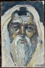 Rafael Chwoles (1913—2002) VINTAGE PAINTING Lithuanian-Jewish JUDAICA