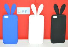 Cover Custodia Case Coniglio Rabbit Playboy in Silicone per iPhone 5 e 5S
