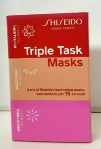 SHISEIDO Triple Task Masks A TRIO Shiseido Best Selling MASKS Face & Eyes SEALED