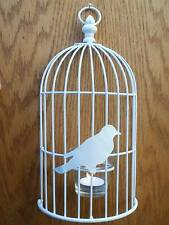 Bird Cage Hanging Candle & Tea Light Holders