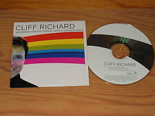 CLIFF RICHARD - SOMEWHERE OVER THE RAINBOW / 2 TRACK MAXI-CD 2001 (CARDSLEAVE)