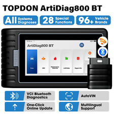 TOPDON AD800BT OBD2 Diagnostico Scanner Sistema completo Codifica CHIAVE =MX808