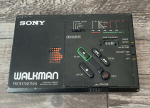 Sony Walkman WMD3 Professional Stereo Cassette Recorder - Black