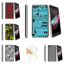 For Alcatel Pulse Mix | Alcatel Crave (2017) Flexible Clear TPU Case Patterns