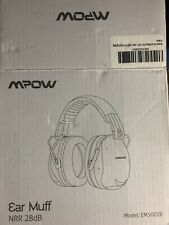 Mpow Shooting Ear Muffs Safety Protective Hearing Nrr 28db Model Em5002B