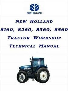 New Holland 60 series all models Workshop Manual