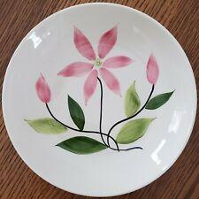 """American Heritage Dinnerware 1955 serving bowl 8-3/16"""" pink flowers"""