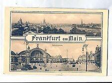 D 315 - Frankfurt, Bahnhofsplatz, Mehrbildkarte, ugl, Serie 271, Nr. 387