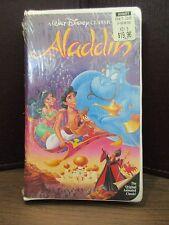 Walt Disney's Black Diamond The Classics Aladdin VHS Original Factory Sealed