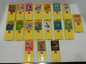 Replacement Vintage Fisher Price Movie Viewer Theater Cartridges You Pick One!!