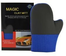 CLAY BAR MITT GLOVE BLUE AUTO CAR WASH CARE DETAILING FINE COMMERCIAL  GRADE