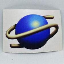 Sega Saturn S Logo Sticker Vinyl Decal Adhesive - NO Video Game MS MD Gear