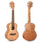 Kmise Concert Ukulele 23 Inch Tiger Flame Classical Guitar Head Hawaii Guitar for sale